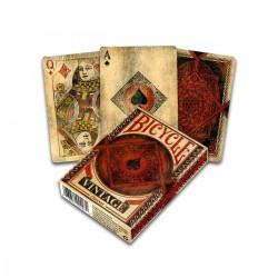 Karty do gry w stylu Vintage
